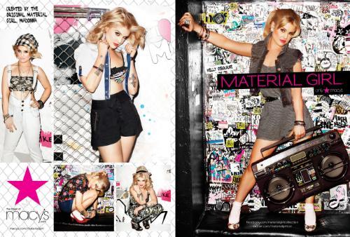 Nuovi progetti per Material Girl