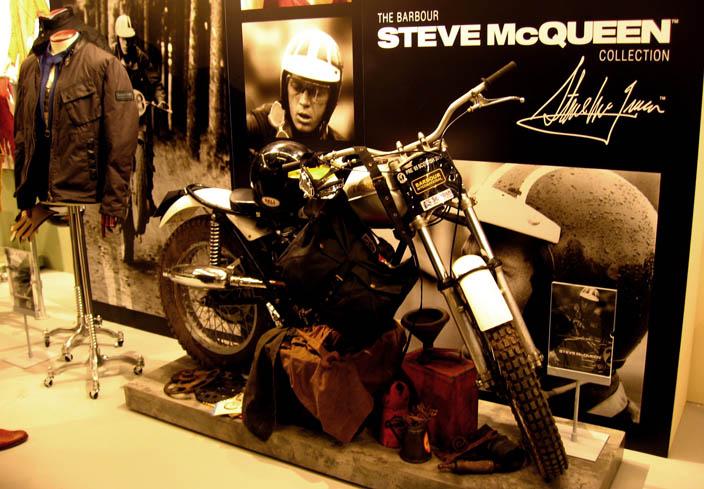 Barbour in edizione limitata con Steve McQueen