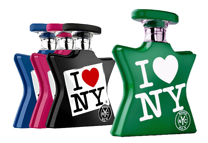 I LOVE NY: il licensing conquista anche la profumeria artistica