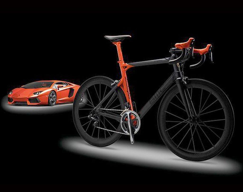 Bicicletta super limited anche per Lamborghini