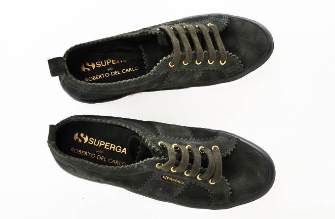 Superga per Roberto Del Carlo: tra sneaker e artigianalità