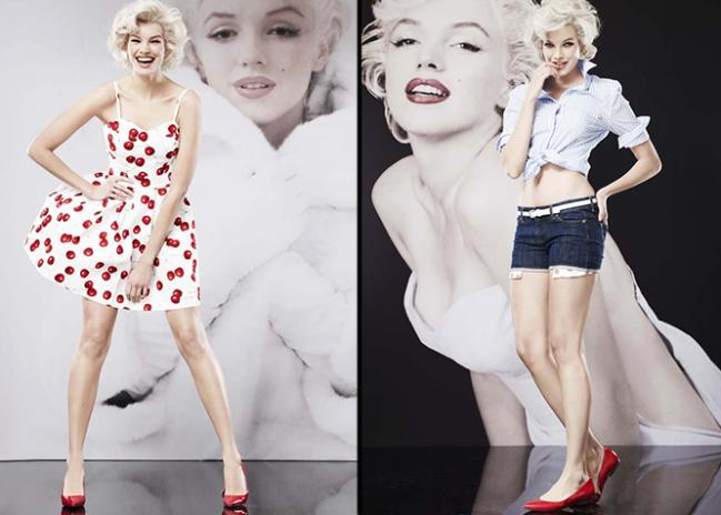 Marilyn Monroe ispira una collezione esclusiva a Macy's
