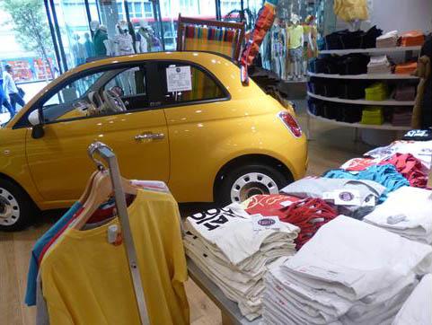 Fiat 500 Uniqlo