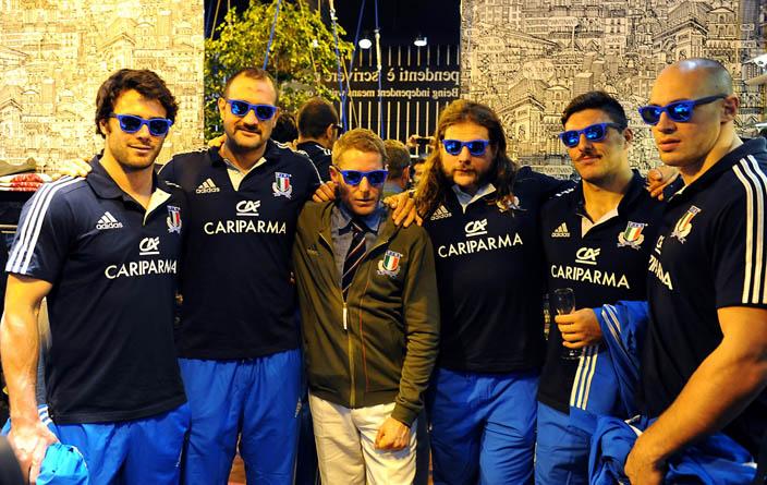 Italian Independent scende in campo con la nazionale di Rugby