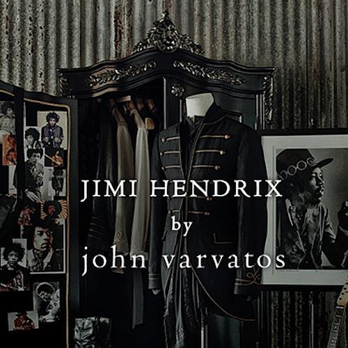 John Varvatos con Jimi Hendrix per una linea da rockstar