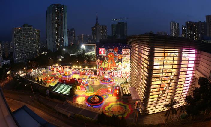 Chupa Chups Playground in Hong Kong