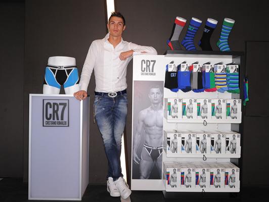 CR7: il marchio di Cristiano Ronaldo fa sul serio