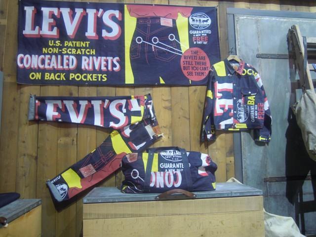 Levi's vintage retail concept
