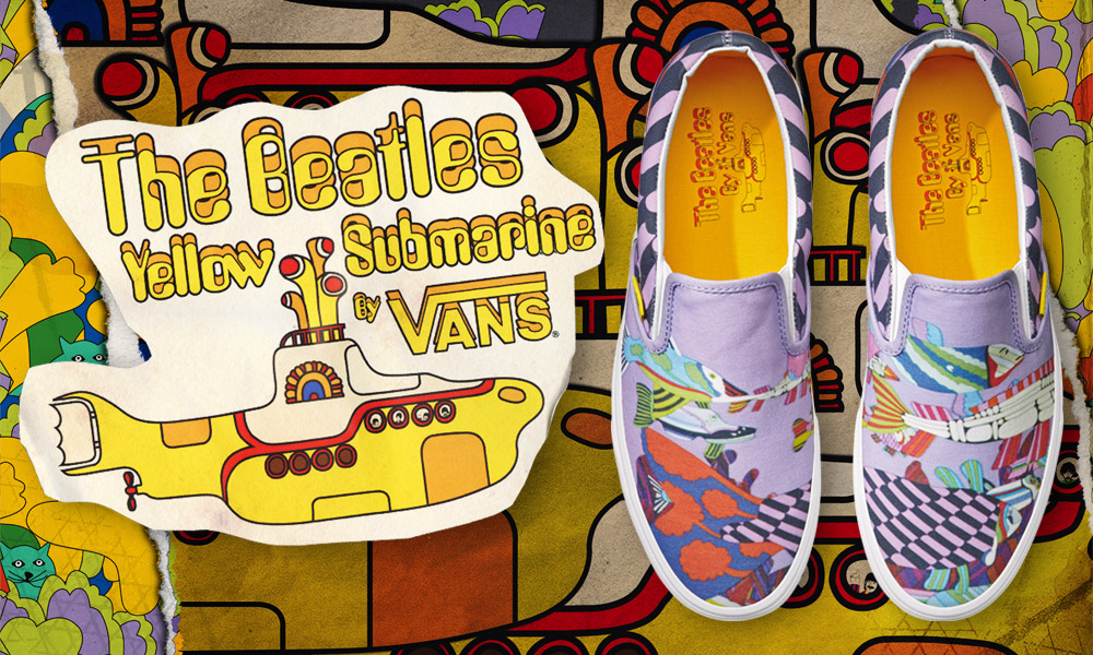"Vans Yellow Submarine: continua il trend ""music for sneakers"""