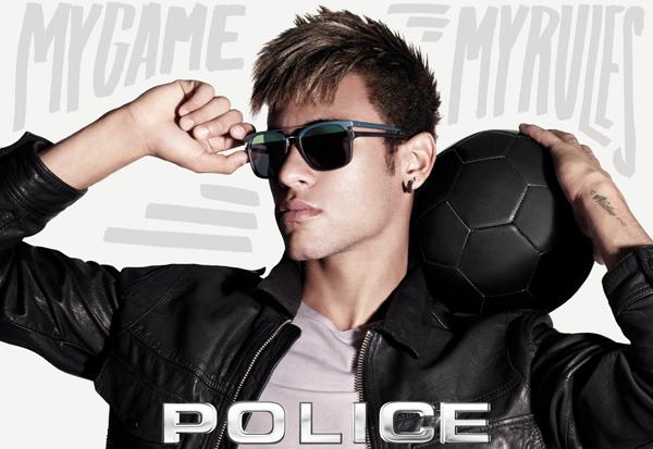 Neymar Jr il nuovo volto di Police