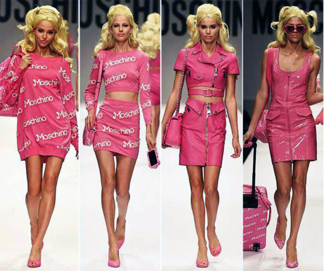 Moschino Barbie Fashion Show Moschino Barbie the strategy