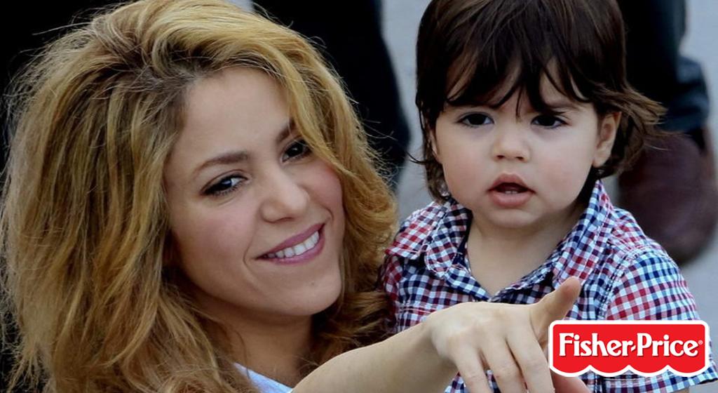 Shakira e Fisher-Price insieme per una linea di giochi educativi
