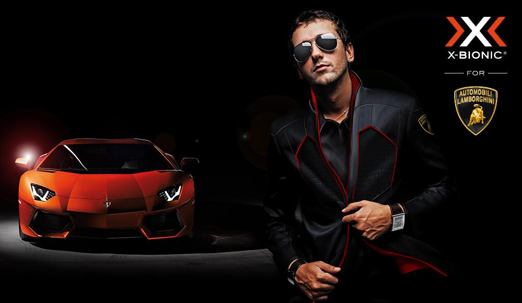 X-Bionic e Lamborghini