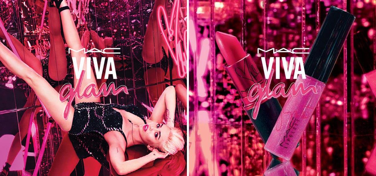 Miley Cyrus e M.A.C. insieme con Viva Glam