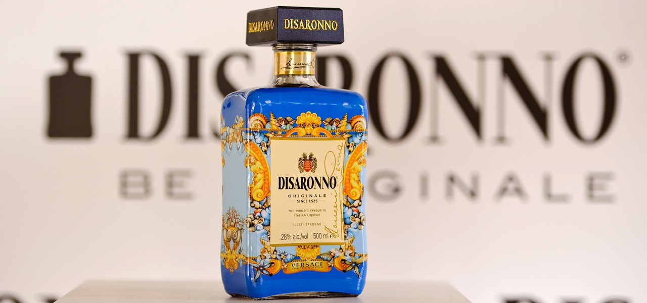 DISARONNO wears VERSACE launch party at One Mayfair, London