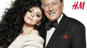 H&M Lady Gaga e Tony Bennet got that swing