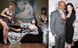 Christian Louboutin e Dita Von Teese insieme per una capsule di lingerie