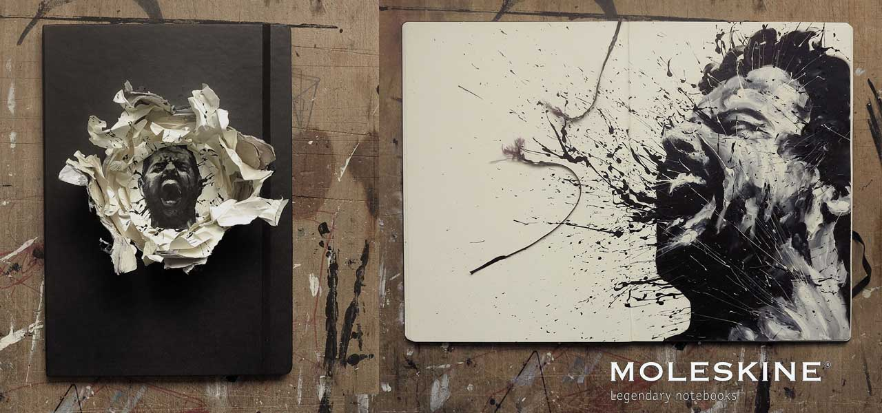 Moleskine special edition with Paolo Troilo