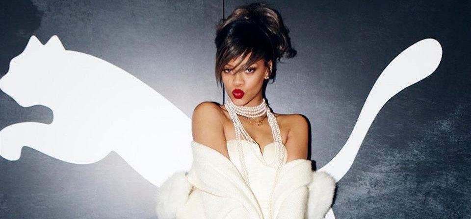 Rihanna: il lato lifestyle di Puma