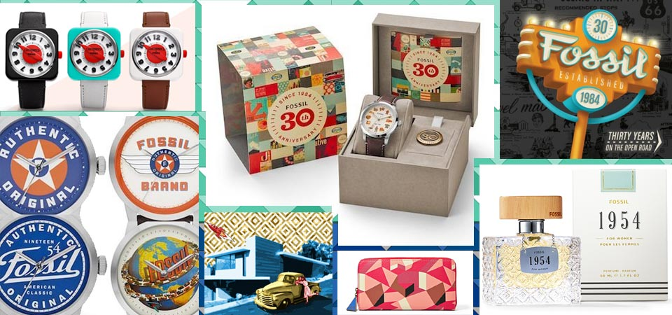 Fossil celebrates 30 years of vintage inspiration