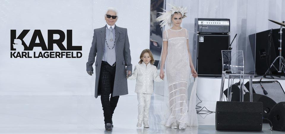 Karl Lagerfeld in versione Kids