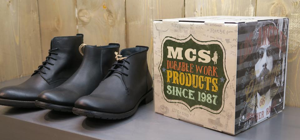 Il brand MCS si estende anche alle calzature