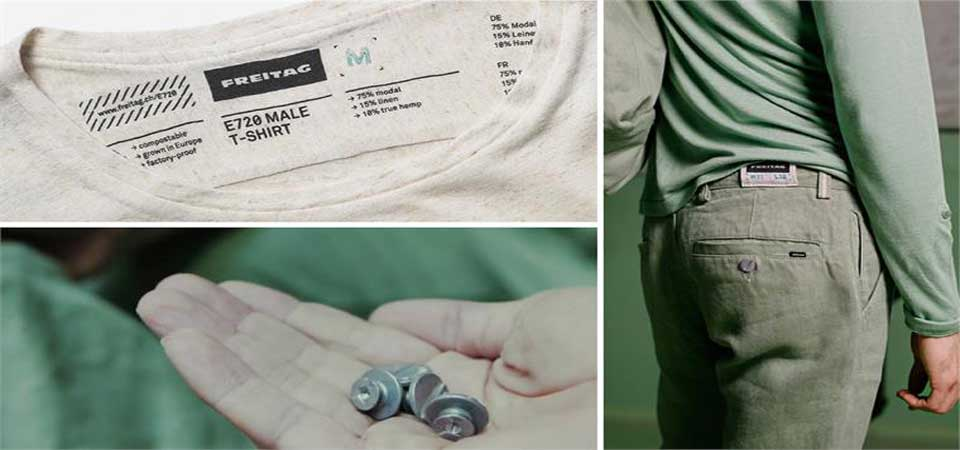 Freitag: from recycled bags to compostable apparel