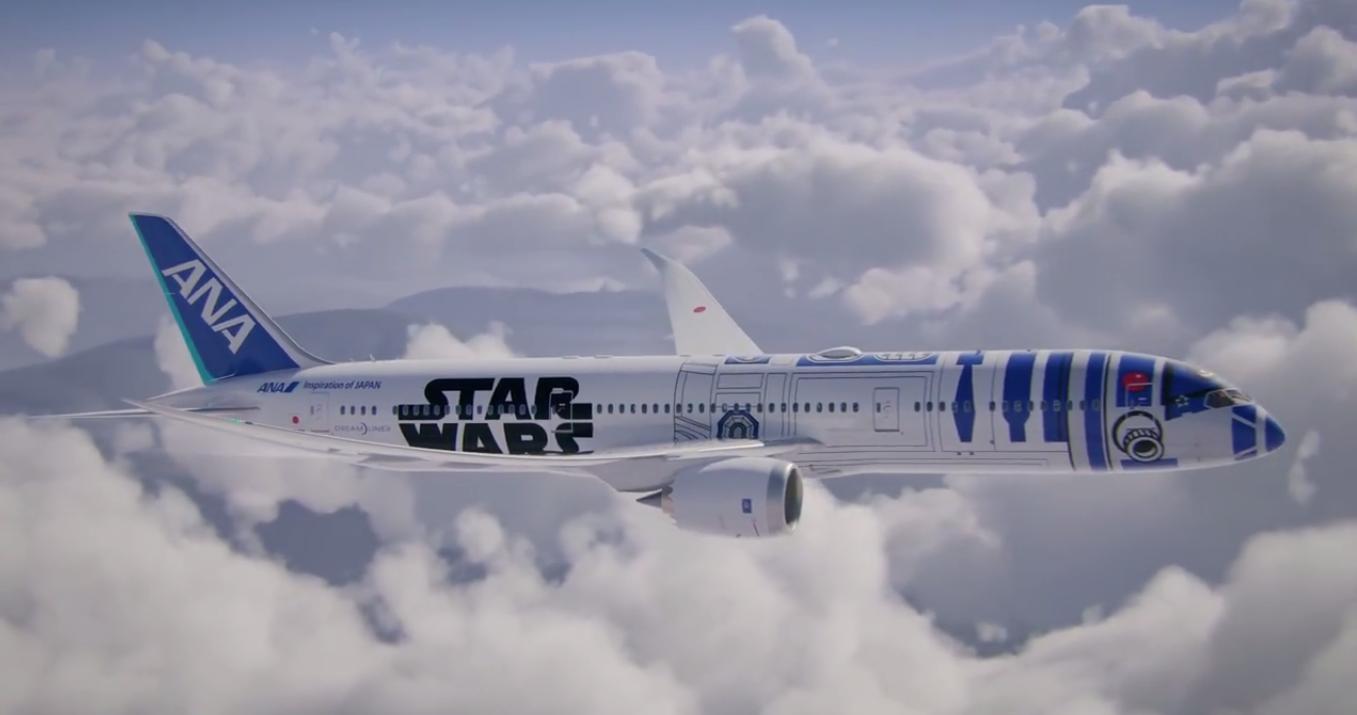 Da Tokyo a Tatooine? ANA vola con Star Wars