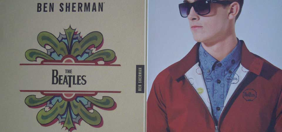 Influenze Sixties: Ben Sherman x The Beatles a Pitti Uomo