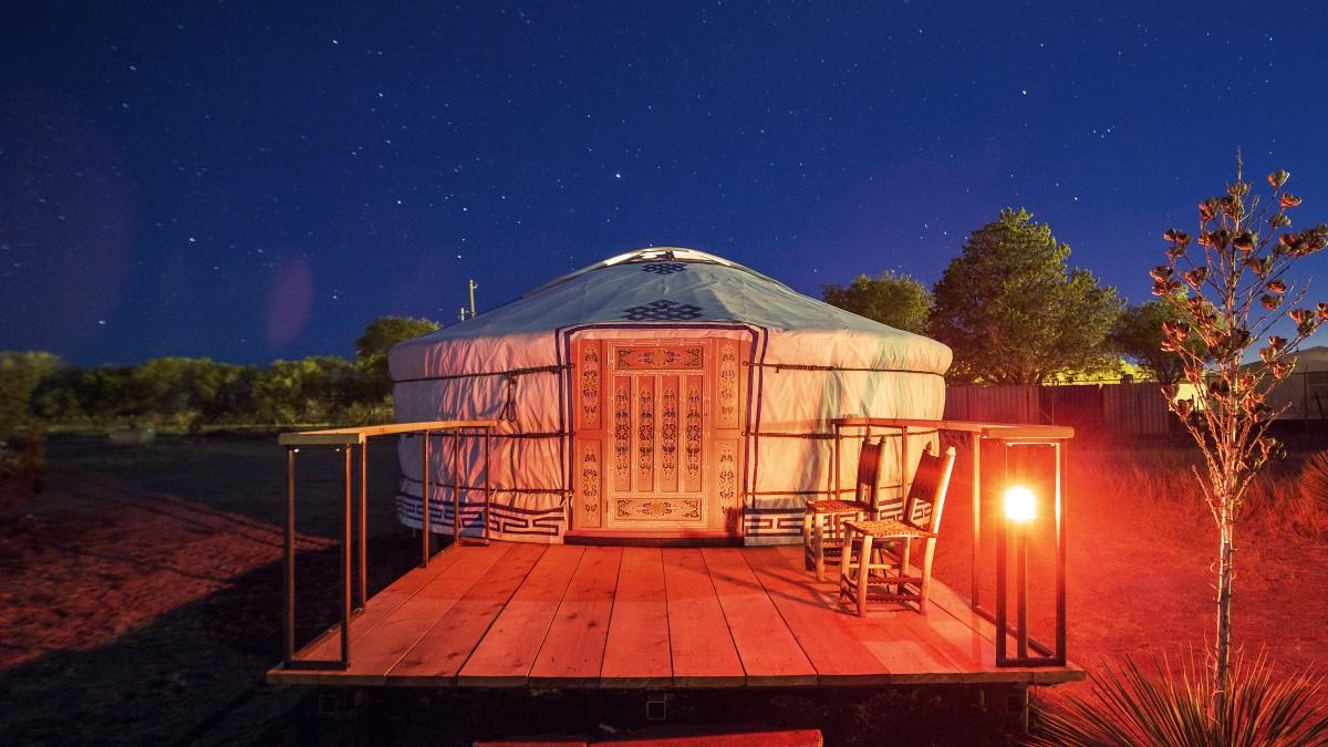 Camping in Style: El Cosmico's Mañana Vibe