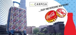 Carpisa rinfresca l'Estate 2015 con Coca Cola