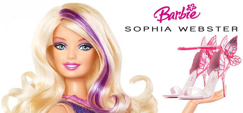 Barbie e Sophia Webster, su e giù dai tacchi