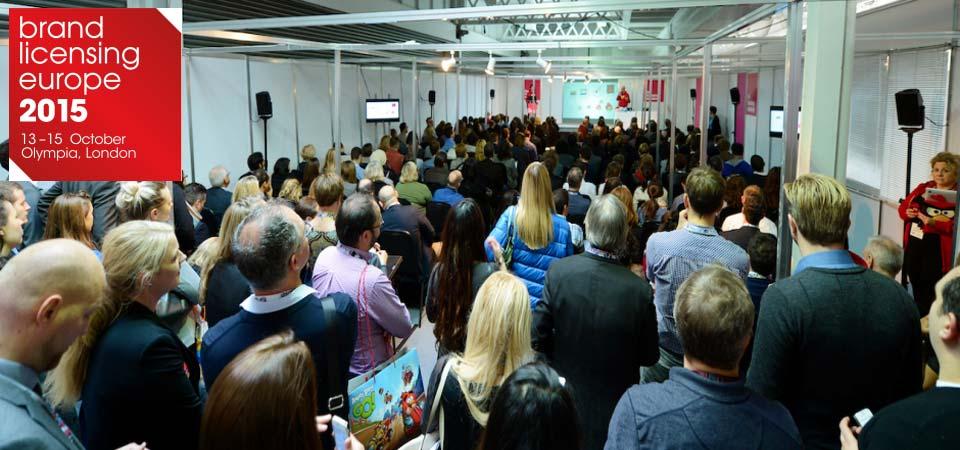 I seminari Brand Jam a Brand Licensing Europe