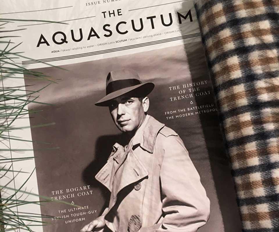 Humphrey Bogart e Aquascutum: una branding story