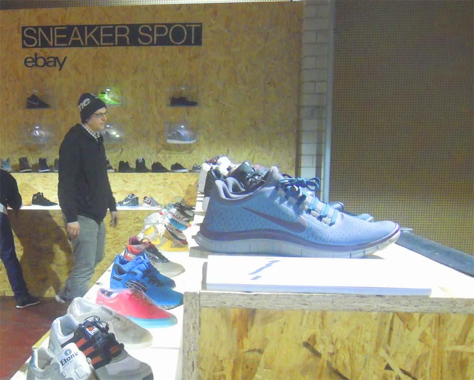 Sneaker Spot: eBay investe sulle limited edition