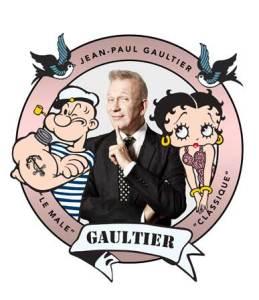 Jean-Paul Gaultier x Popeye e Betty Boop