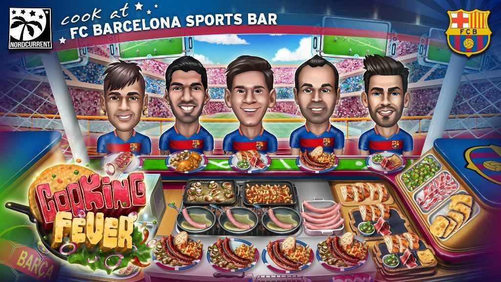 Cooking Fever FC Barcelona