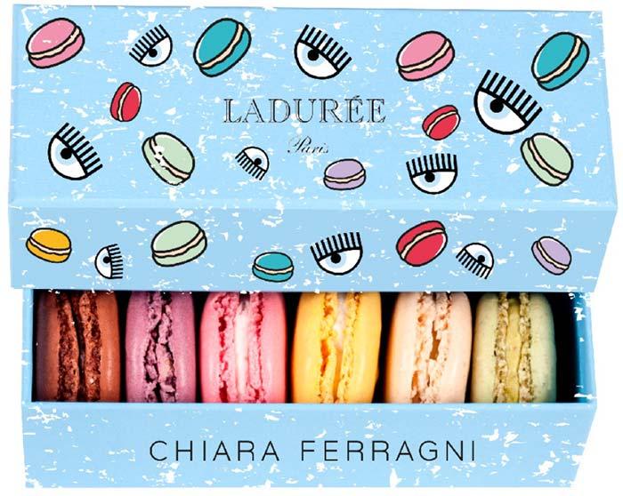 Chiara Ferragni x  Ladurée