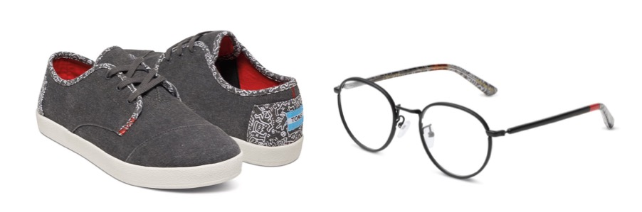 Toms Shoes Keith Haring