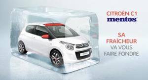 Citroën C1 Mentos edition: la freschezza su quattro ruote