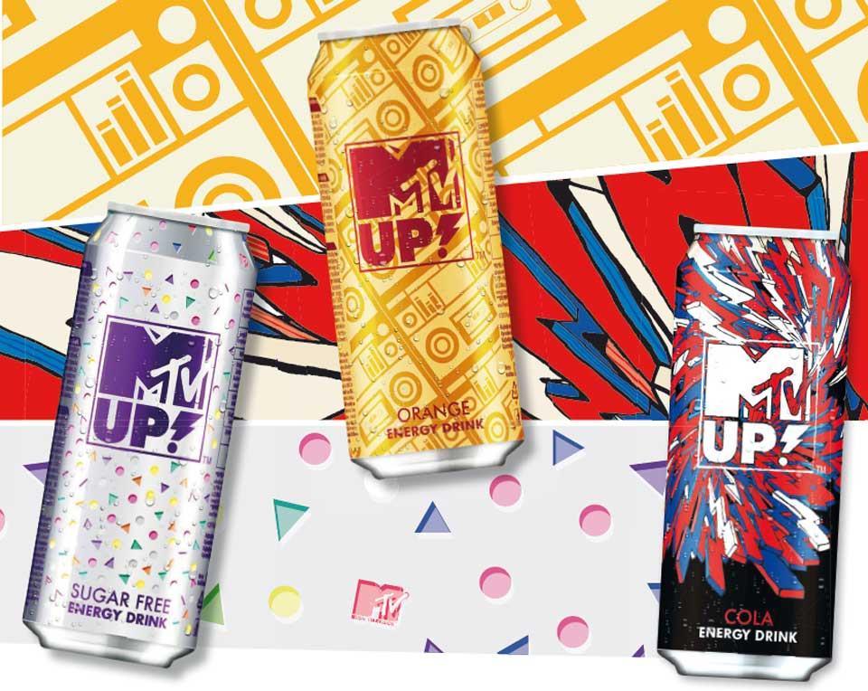 MTV: energetic brand extension