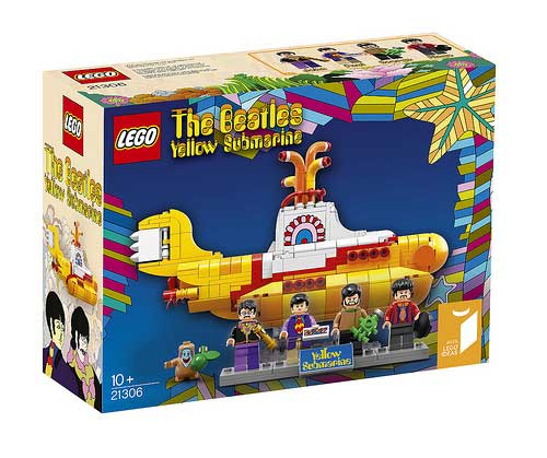 Lego Yellow Submarine: nicchia di massa