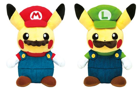 Pikachu si veste da Super Mario