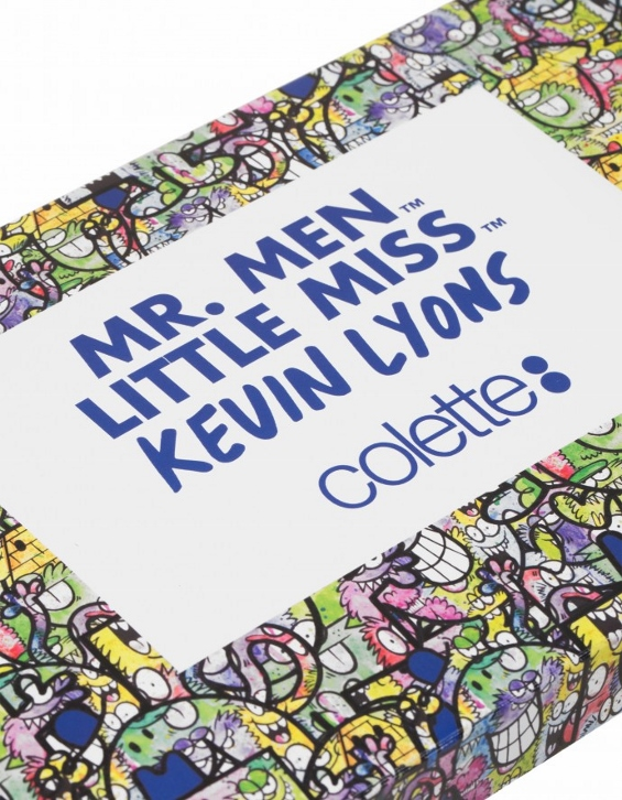 Mr Men Little Miss x Kevin Lyons: l'arte raddoppia da Colette