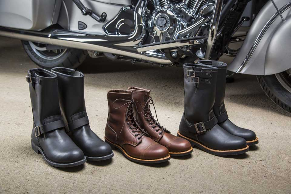 Heritage americano: Indian Motorcycles e Red Wing