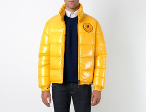 Smiley killer collaboration with Moncler