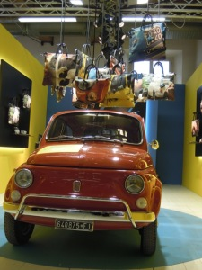 A Gabsule collection with Fiat 500