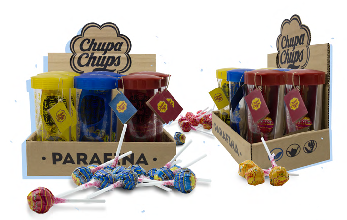 Eco-sweet Collaboration: Chupa Chups + Parafina