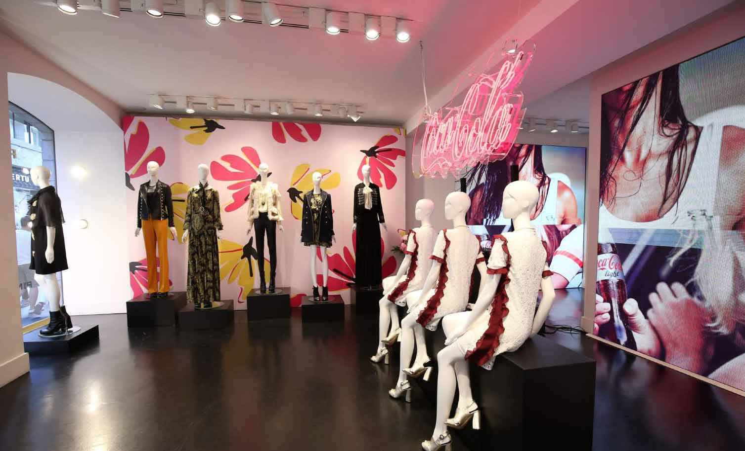 Pinko and Coca Cola launched their collaboration in June 2016 096eec77499