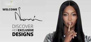 Naomi Campbell lancia il suo brand